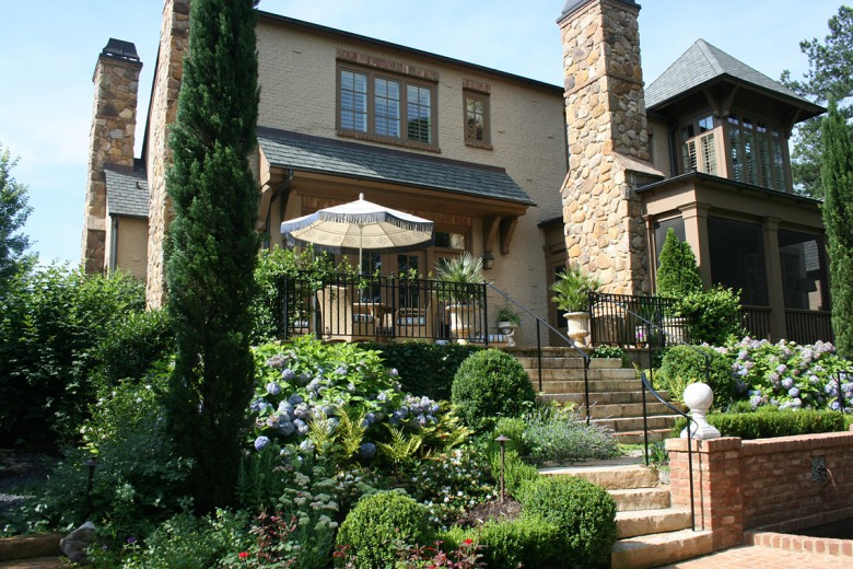 Italian Style Rear Garden, Garden Architects, Inc.