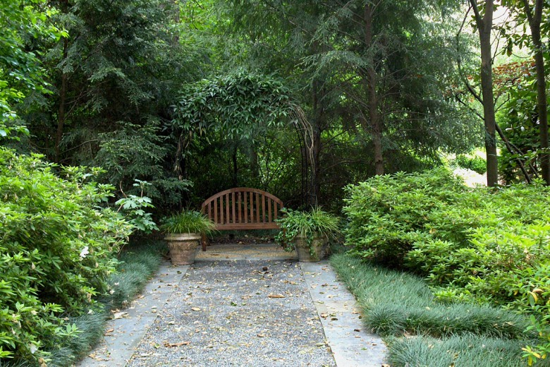 Arbor with Climbing Hydrangea, Garden Architects, Inc.