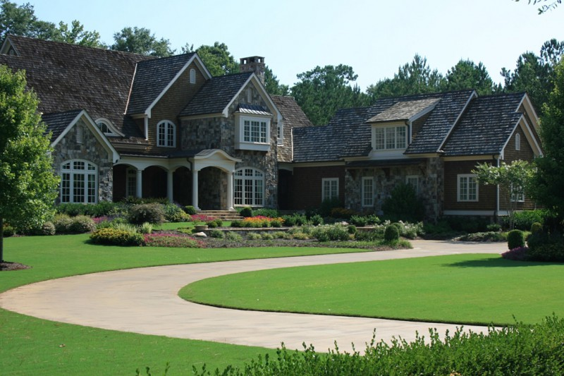 Circular Drive and Formal Entry, Garden Architects, Inc.