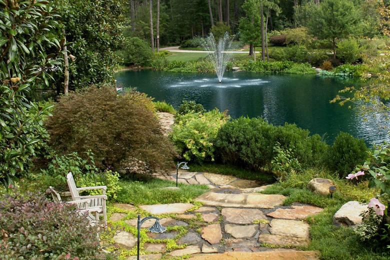 Lake at Buckhead Estate, Garden Architects, Inc.