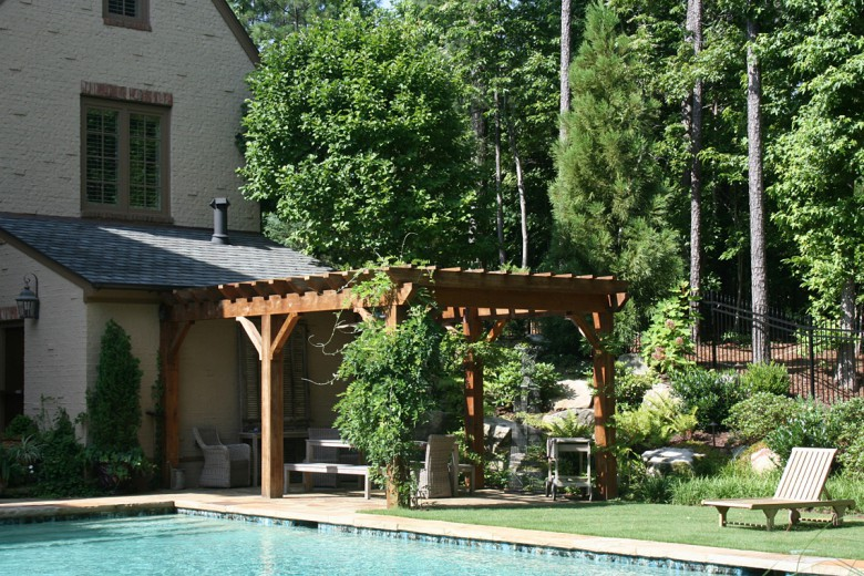 Cedar Garden Arbor, Garden Architects, Inc.