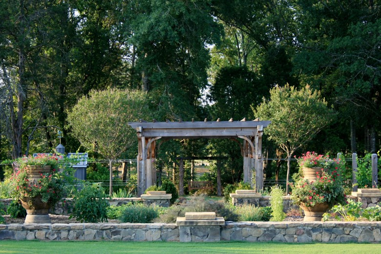 Rustic Country Estate Herb Garden, Garden Architects, Inc.