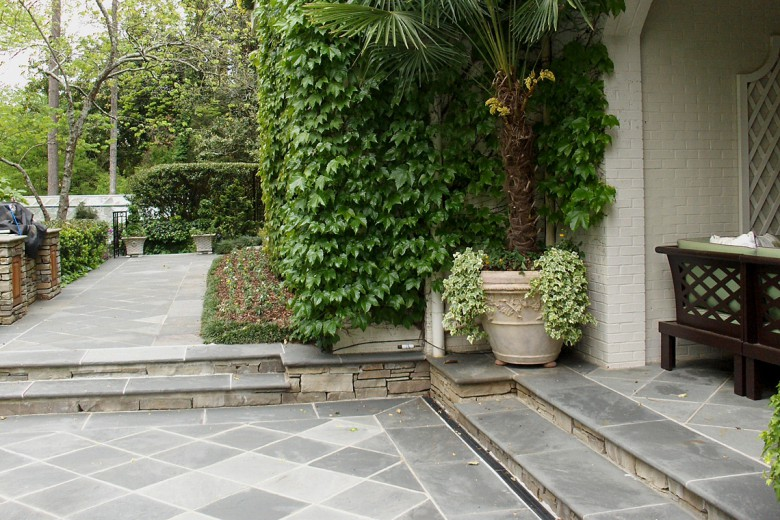 Loggia Steps and Greycrab Orchard Terrace, Garden Architects, Inc.