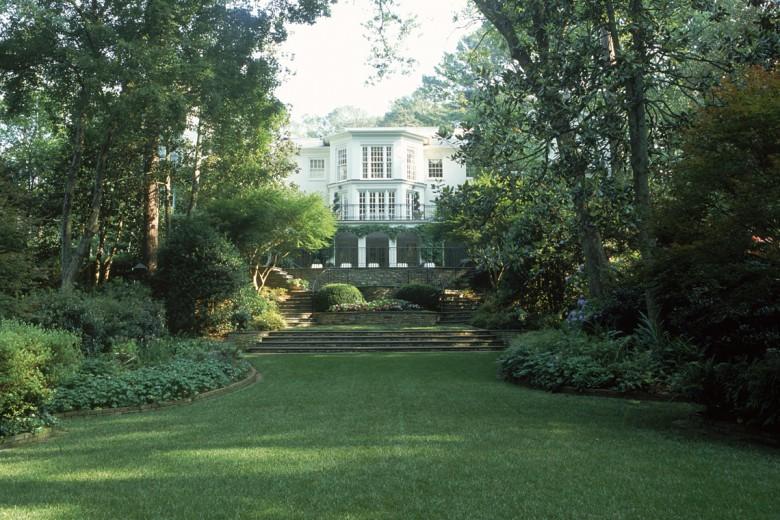 Rear Lawn Terraces Estate Garden, Garden Architects, Inc.