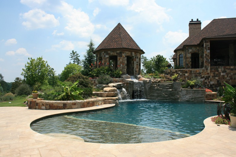 Country Estate Swimming Pool, Garden Architects, Inc.