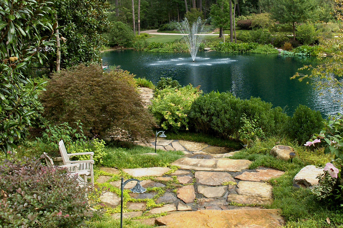 Lake Terrace Overlook at Buckhead Estate, Garden Architects, Inc.