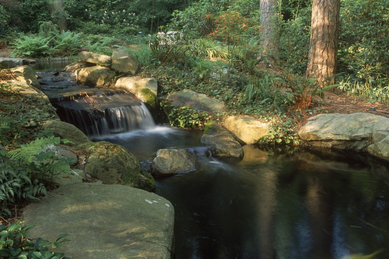 Upper Falls at Koi Pond, Garden Architects, Inc.