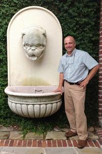 Greg-Arnold-ASLA-Limestone-Georgia-Bulldog-Fountain-Garden-Architects-Inc