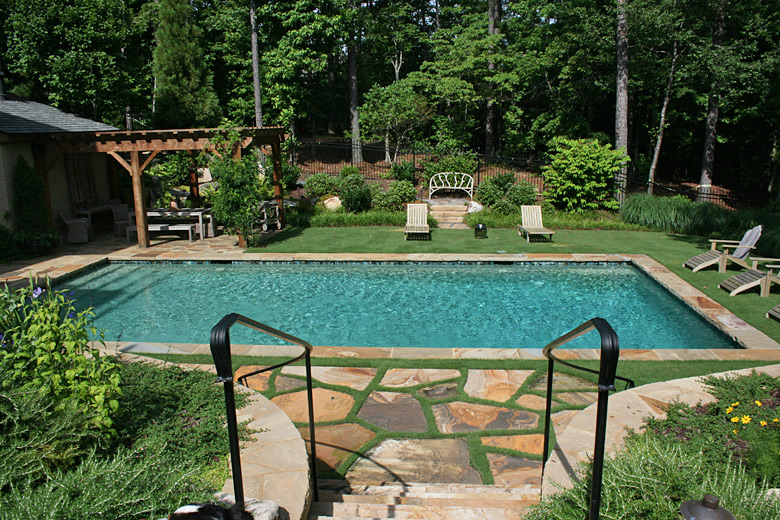 Garden Architects Swimming Pools Grass